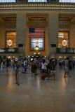 Estación central magnífica Nueva York Fotografía de archivo