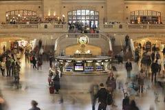 Estación central magnífica, Nueva York foto de archivo