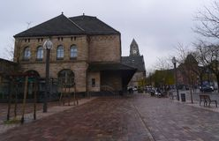 Estación central, Metz Imagenes de archivo