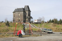 Estación cuatro Bates Motel Imagen de archivo