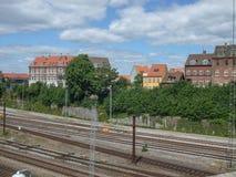 Estación de Aarhus Fotos de archivo libres de regalías