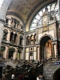 Estación de Antwerpen imagen de archivo libre de regalías