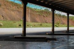 Estación de autobúses Imagen de archivo libre de regalías