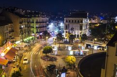 Estación de autobúses de Cannes fotos de archivo
