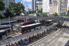Estación de autobúses de Bandeira Imagen de archivo libre de regalías