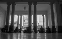 Estación de Bangkok fotografía de archivo libre de regalías