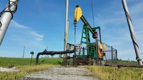 Estación de bomba de aceite Tansport y distribución del aceite Tecnología del sistema de transporte del aceite Tr metrajes