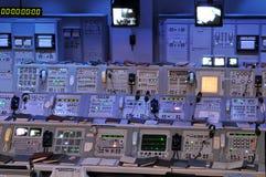 Estación de control de la NASA Foto de archivo