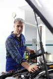 Estación de diagnóstico fotografía de archivo libre de regalías