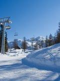 Estación de esquí Fotografía de archivo libre de regalías
