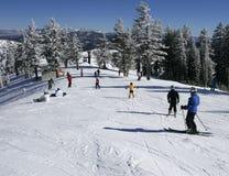 Estación de esquí Fotos de archivo libres de regalías