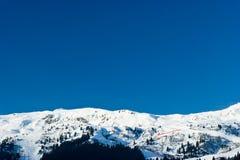 Estación de esquí Imágenes de archivo libres de regalías
