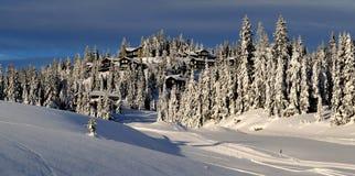 Estación de esquí de Kvitfjell, Noruega Imágenes de archivo libres de regalías