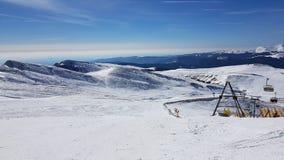Estación de esquí de Sinaia Imágenes de archivo libres de regalías