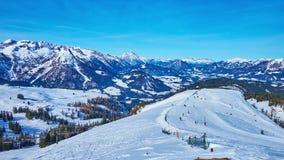 Estación de esquí del oeste de Dachstein, Gosau, Salzkammergut, Austria
