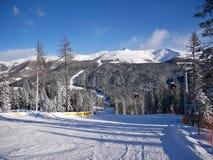 Estación de esquí de Drei Zinnen Foto de archivo