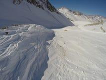 Estación de esquí en la Argentina fotos de archivo