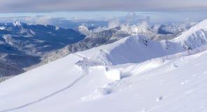 Estación de esquí Krasnaya Polyana SOCHI Foto de archivo libre de regalías