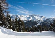 Estación de esquí Madonna Di Campiglio. Italia Fotografía de archivo