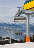 Estación de esquí Schladming. Austria Imagenes de archivo