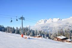 Estación de esquí Schladming austria Foto de archivo libre de regalías