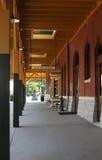 Estación de ferrocarril imagen de archivo libre de regalías