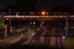 Estación de ferrocarril Fotografía de archivo