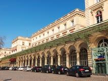 Estación de ferrocarril de Gare de l'Est París Francia Imagen de archivo libre de regalías