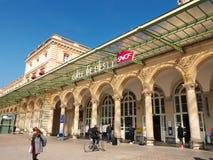 Estación de ferrocarril de Gare de l'Est París Francia Fotos de archivo libres de regalías
