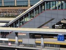 Estación de ferrocarril del Metro-norte de Stamford Foto de archivo libre de regalías