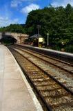Estación de Froghall fotografía de archivo