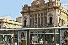 Estación de Genoa Brignole imágenes de archivo libres de regalías