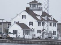 Estación de guardacostas de Rochester NY fotos de archivo libres de regalías