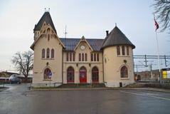 Estación de Halden Imagenes de archivo