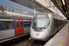 Estación de Hong Kong MTR Imágenes de archivo libres de regalías