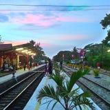 Estación de HuaHin Fotografía de archivo