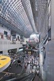 Estación de Kyoto, Japón Foto de archivo libre de regalías