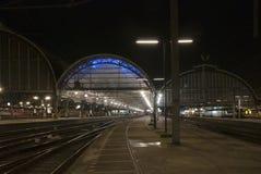 Estación de la central de Amsterdam Foto de archivo libre de regalías