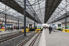Estación de la central de Helsinki Fotos de archivo
