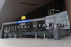 Estación de la central de Rotterdam Fotografía de archivo libre de regalías