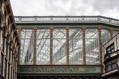 Estación de la central de Glasgow imagen de archivo libre de regalías
