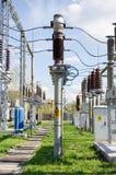 Estación de la corriente eléctrica Imagen de archivo