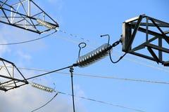 Estación de la corriente eléctrica Imágenes de archivo libres de regalías