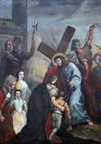 Estación de la cruz Imagen de archivo libre de regalías