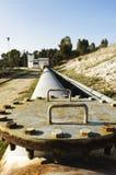 Estación de la elevación del agua Imágenes de archivo libres de regalías