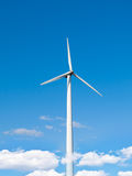 Estación de la energía eólica Imagenes de archivo
