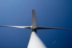 Estación de la energía eólica Imagen de archivo libre de regalías
