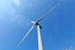 Estación de la energía eólica Fotos de archivo libres de regalías