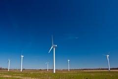 Estación de la energía eólica Foto de archivo libre de regalías