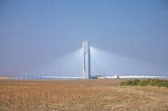 Estación de la energía solar de Sanlucar Fotos de archivo libres de regalías